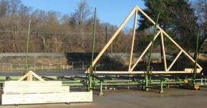 Large CAVCO truss
