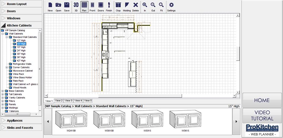 Pro Kitchen Design Software Kitchen Cabinets In Prokitchen Design Software Reviews Hetch S